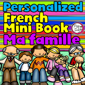 French Emergent Reader - Ma famille