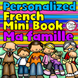 FRENCH My Family - Ma famille - Personalized Booklet