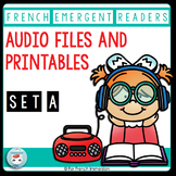 French Emergent Readers + Audio Files For Listening Activity Center | READ ALOUD