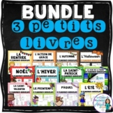 French Emergent Readers Bundle:  All Sets of 3 mini-books