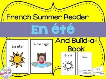 French Emergent Readers {Bundled Set 1} Dual language, immersion, FLES