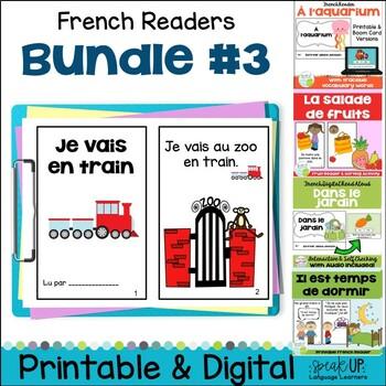 French Emergent Readers {Bundled Set 3}