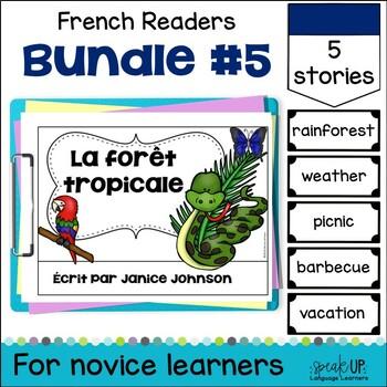 French Emergent Readers {Bundled Set 5}