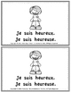 JE SUIS - BOOKLET - French Emergent Readers & Writers! Che