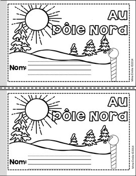 French Emergent reader Christmas mini-books/Les petits livres {Noël}