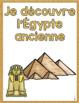 French Emergent reader Egypt mini-books/Petits livres Égypte