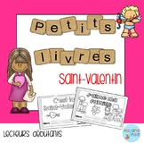French Emergent reader Valentine's day mini-books/Petits livres {Saint-Valentin}