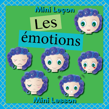 French Emotions Booklet