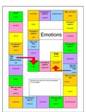 French Emotions Gameboard