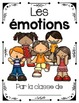 French Emotions Posters and Emergent Reader (Les émotions)