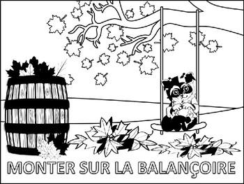 French: En Automne Coloring