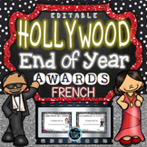 French End of Year Awards {Editable}