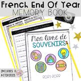 French End of Year Memory Book - Livre de souvenirs pour la fin d'année