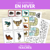 French/English Animals in Winter - Les animaux en hiver