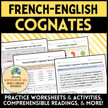 French Cognates [Les mots apparentés]