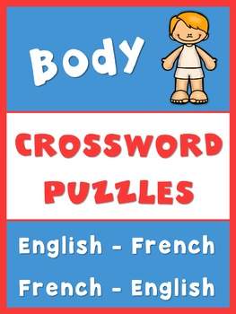 French English Crossword Puzzles  Body