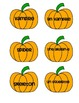 French-English Halloween vocab match