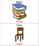 French/English Items In The Classroom