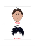 French/English Parts of the Face