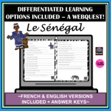 French/English Senegal-Distance Learning Friendly-Webquest