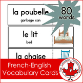 French / English Vocab Cards