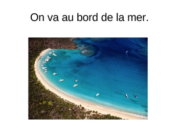 French Environment and Vacation Vocabulary