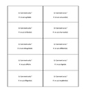 French - Être and Adjectives Question Activity