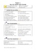 French Exam Topic Introduce Myself 4: Relationship Vocab. Sheet (mp3 separate)
