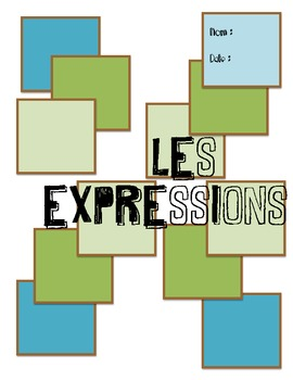 French Expressions Activity and Test