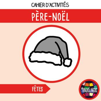 French/FFL/FSL - Activity book + MP3 - Père Noël/Santa Claus