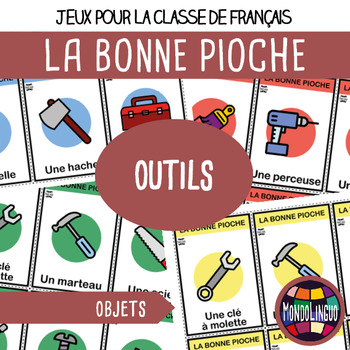 French/FFL/FSL - Card Game - Go Fish - Outils/Tools