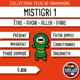 Card Game to teach French/FFL/FSL: Mistigri - être, avoir,