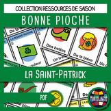 French/FFL/FSL/Français - Jeu - Bonne pioche - Saint-Patrick