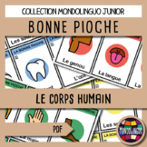Card game to teach French/FFL/FSL: Bonne pioche - Corps hu