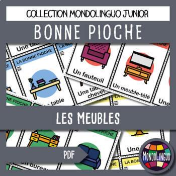 French/FFL/FSL - Games - Go Fish - Furniture
