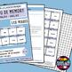 French/FFL/FSL - Games - Memory - Bilingual - Verbs