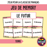 Memory Game to teach French/FFL/FSL: Futur/Future tenses