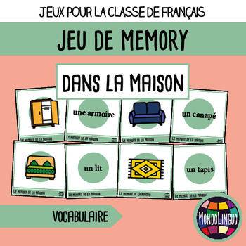 French/FFL/FSL - Games - Memory - Households
