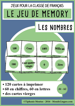 French/FFL/FSL - Games - Memory - Numbers