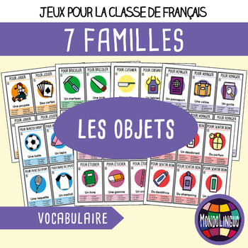 French/FFL/FSL - Games - Seven Families - Objects