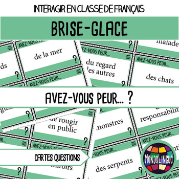Icebreaker to teach French/FFL/FSL: Pouvez-vous... ?/Are you able to...?