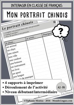 French/FFL/FSL - Questionnaires - If I were...