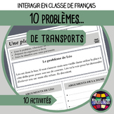 Role playing situations in French/FFL/FSL - Transports/Transportation Problems