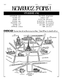 French FOLLOWING DIRECTIONS #2-PARIS map interp. reading