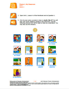 French FSL: My Classroom: Classroom Interactions Bundle (146 pages & 4 videos)