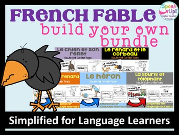 French Fable Readers  ~ Build Your Own 10 Reader Bundle