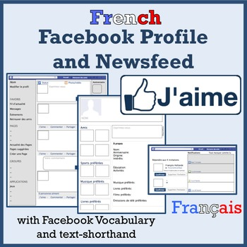 French Facebook Project