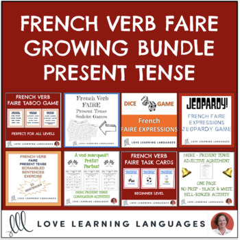 French Faire Expressions Bundle & Save