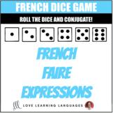 French Faire Expressions Dice Game - Jeu de Dés en Français