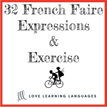 French Faire Expressions Lesson + Exercises